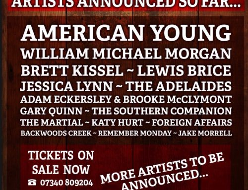American Young will perform at The Buckle & Boots Festival, Manchester UK