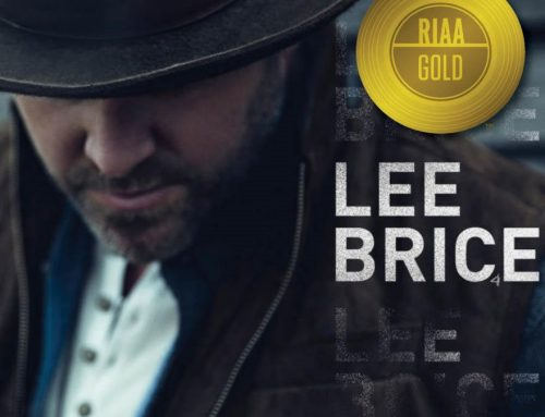 Lee Brice Strikes Gold!