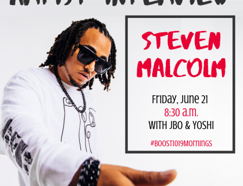 Steven Malcolm – Boost Radio Interview