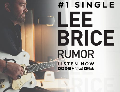 "Lee Brice Returns to Number One with ""Rumor"""