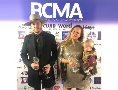American Young WINS a British Country Music Association Award!