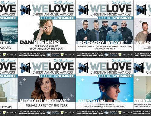 The 'WE LOVE CHRISTIAN MUSIC AWARDS' – Curb I Word Nominees