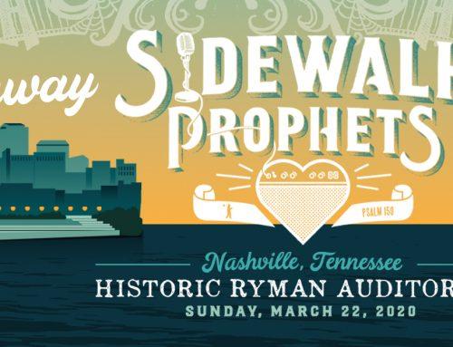 Sidewalk Prophets Flyaway Promotion – Enter Today!