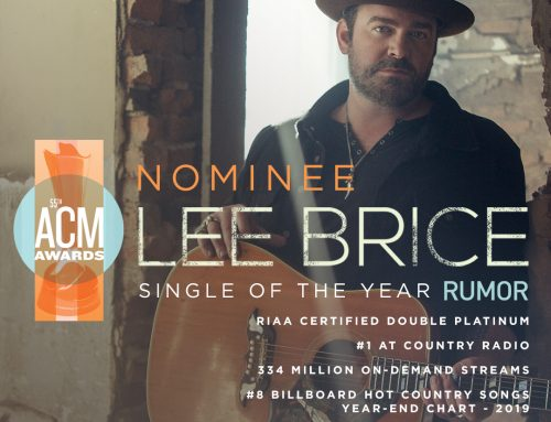 Lee Brice – ACM Nomination