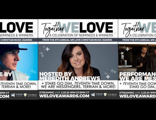 We Love Christian Music Awards – Hosted by Meredith Andrews. Performances by We are Messengers & Stars Go Dim