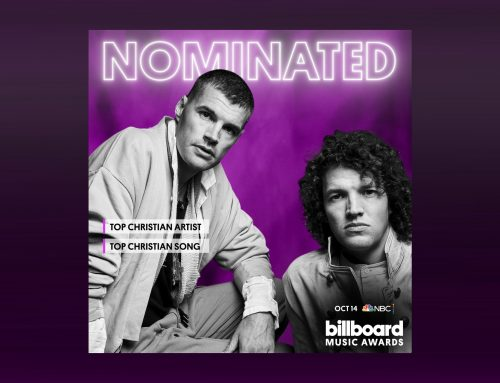 AWARD WINNING AUSTRALIAN DUO for KING & COUNTRY NOMINATED FOR TWO BILLBOARD MUSIC AWARDS