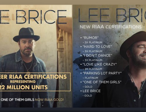 Lee Brice Surprised with Multiple Career Accomplishments Celebration