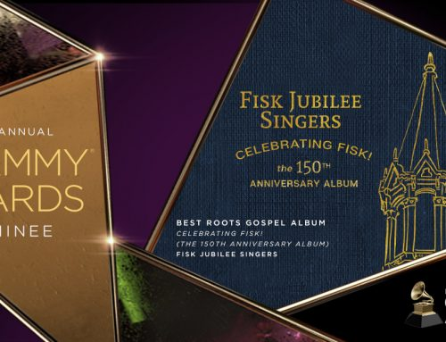 The Fisk Jubilee Singers'® Album, Celebrating Fisk! (The 150th Anniversary Album), Nominated for GRAMMY® Award in Best Roots Gospel Album Category