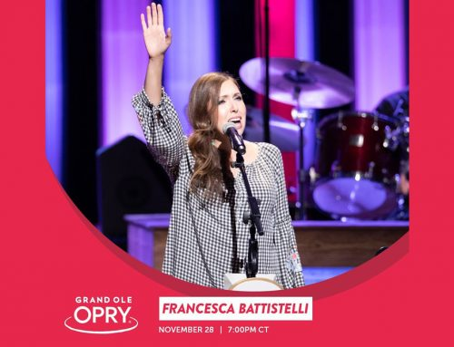 Francesca Battistelli Set To Perform At The Grand Ole Opry