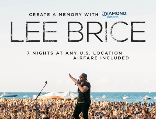 CREATE A MEMORY WITH DIAMOND RESORTS / LEE BRICE
